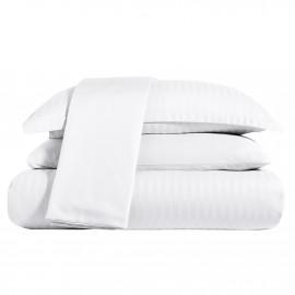 NADAV Hotel Duvet Cover Double White 6-PCS