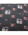 غطاء خدادية أسود و أحمر