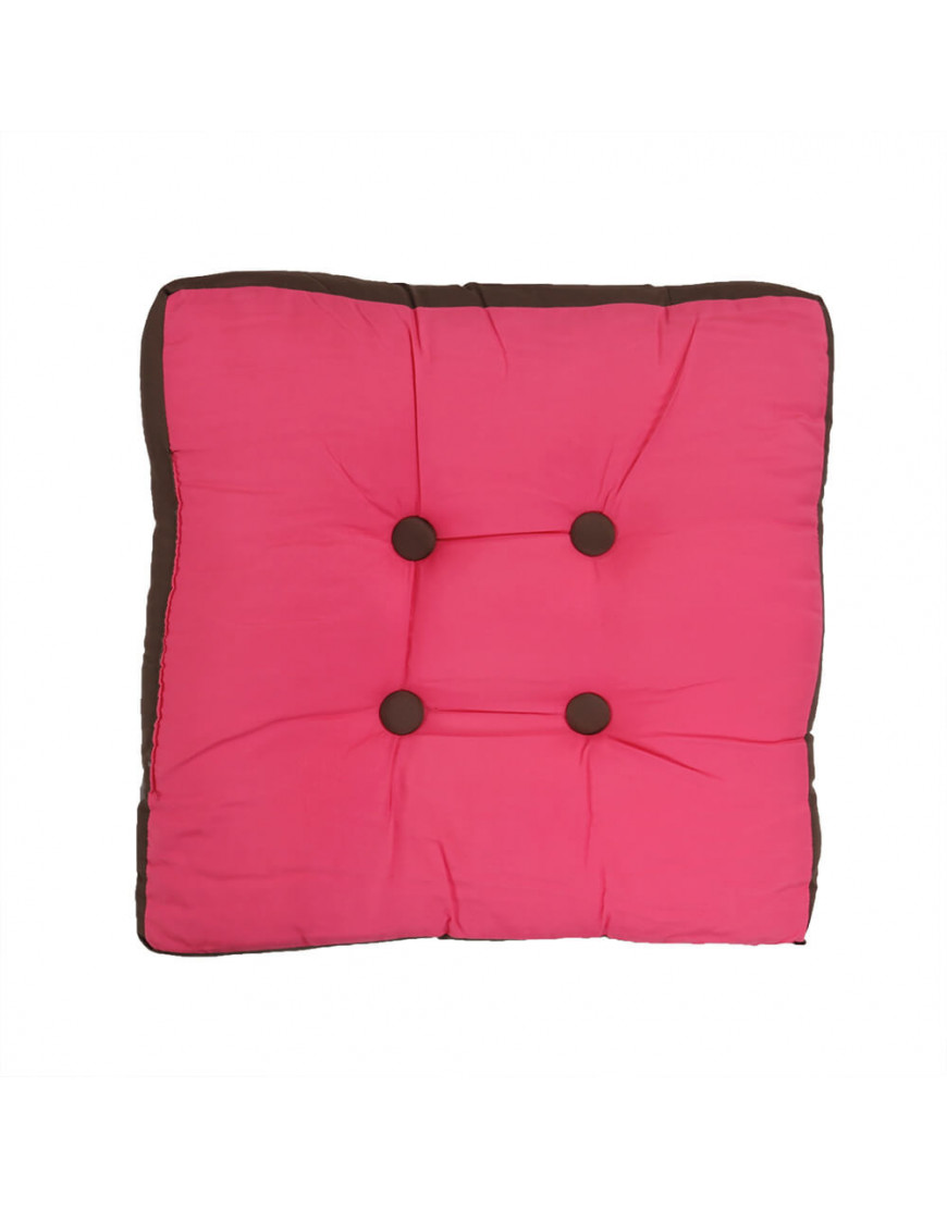 وسادة أرضية مربعة الفوشي  50 × 50 سم