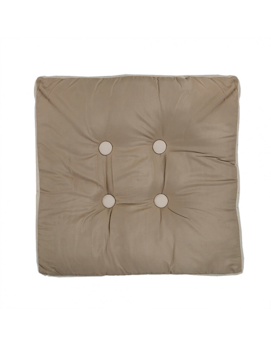 وسادة أرضية مربعة زيتي 50 × 50 سم