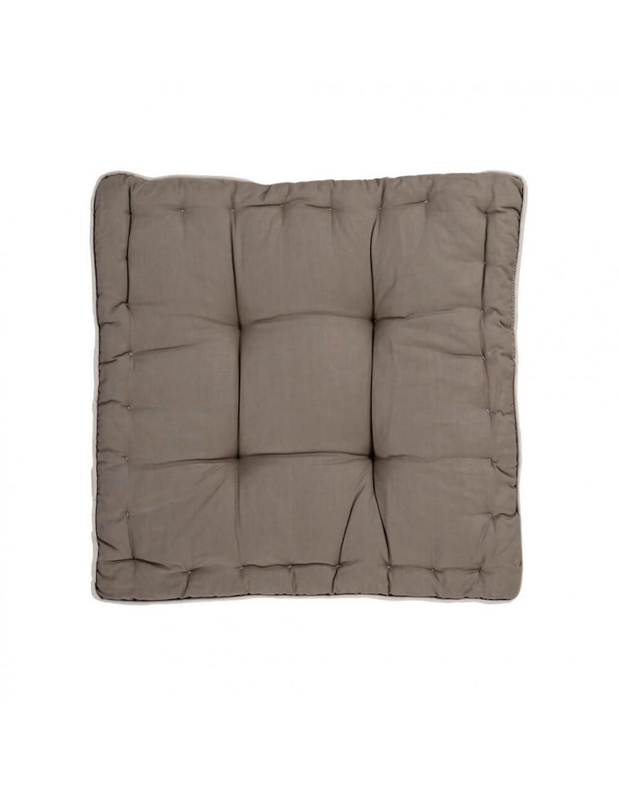 وسادة أرضية مربعة رصاصي 38 × 38 سم