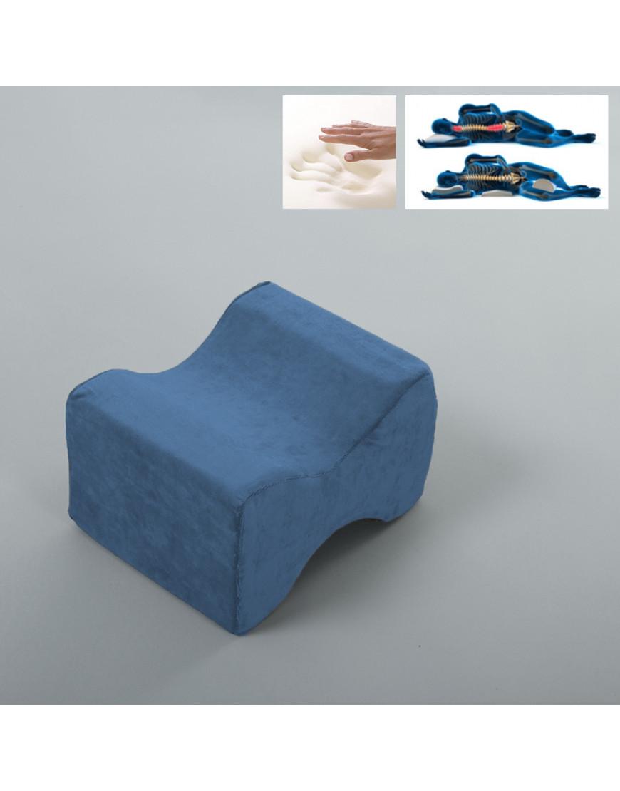 وسادة ركبة لون أزرق
