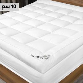 Gardenia Mattress Topper 10-cm Thickness White 200x200 cm
