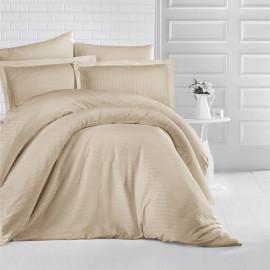 NADAV Hotel Bedding Double 250-TC Cotton Beige 9-PCS