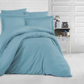 NADAV Hotel Bedding Double 250-TC Cotton Turquoise 9-PCS