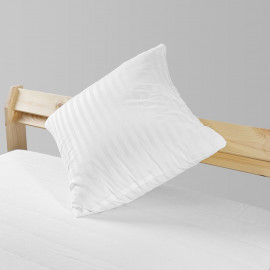 Compressed White Cushion Firm Support