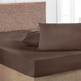 Ultra-soft Brown Pillowcase 2-Piece Set