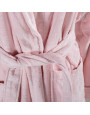 Solid-Coloured Bath Robe Single Lilac
