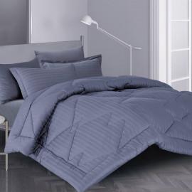 Hilton Summer Bedding Dark grey Single 4-piece Set