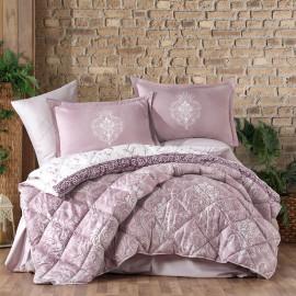 Rodisa Summer Bedding Lilac Double 8-piece Set