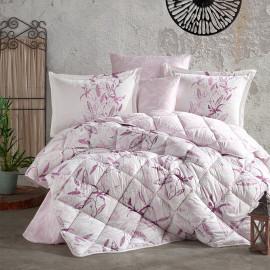Mayra Summer Bedding Light Pink Double 8-piece Set