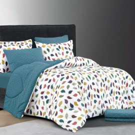 ZINA Summer Bedding Double Multi-colors 6-PCS
