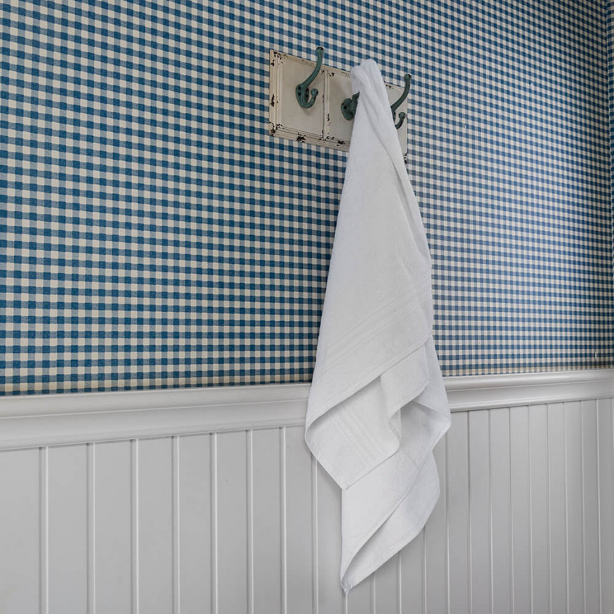 Amos Hotel Towel 140x70 cm Turkish Cotton White