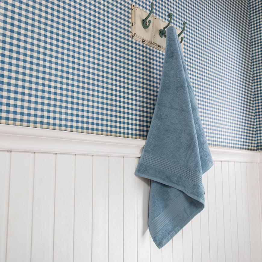 منشفة فتيلا الفندقية أزرق