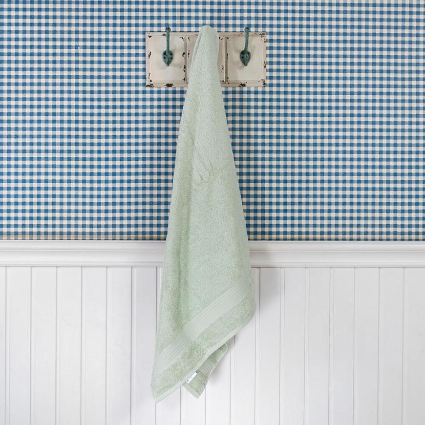 منشفة فتيلا الفندقية أخضر