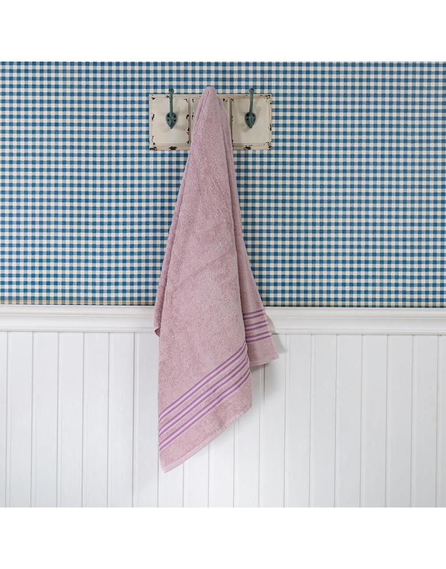 منشفة فيروز الفندقية وردي