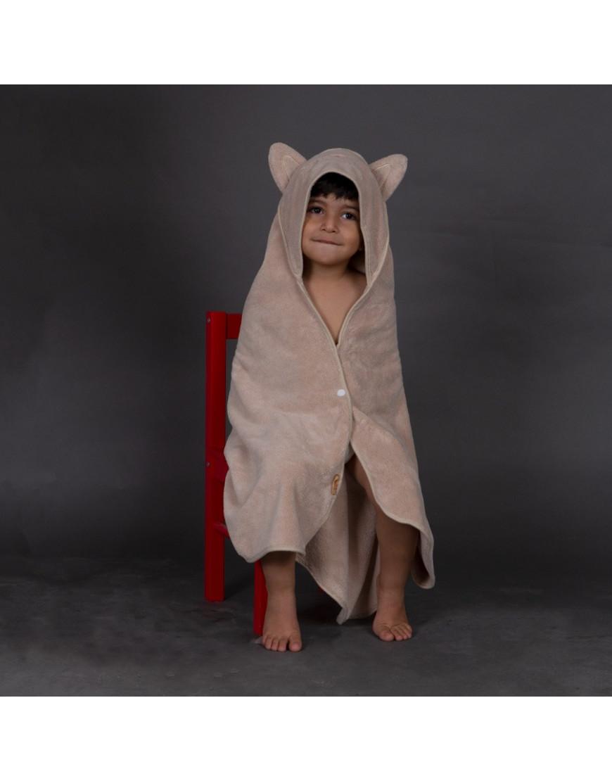بانشو استحمام أطفال رضع مخملي بيج