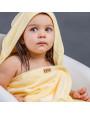 بانشو استحمام أطفال رضع مخملي أصفر