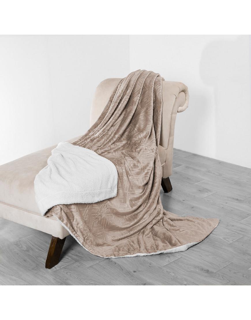 بطانية فيرسو محفور كوفي