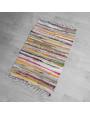 دعاسة أرضية قطن مشكل متعددة الألوان 60×90 سم
