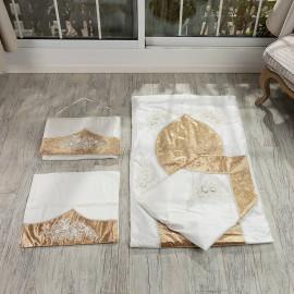 Bride Prayer Mat Cream And Cold 4-piece Set