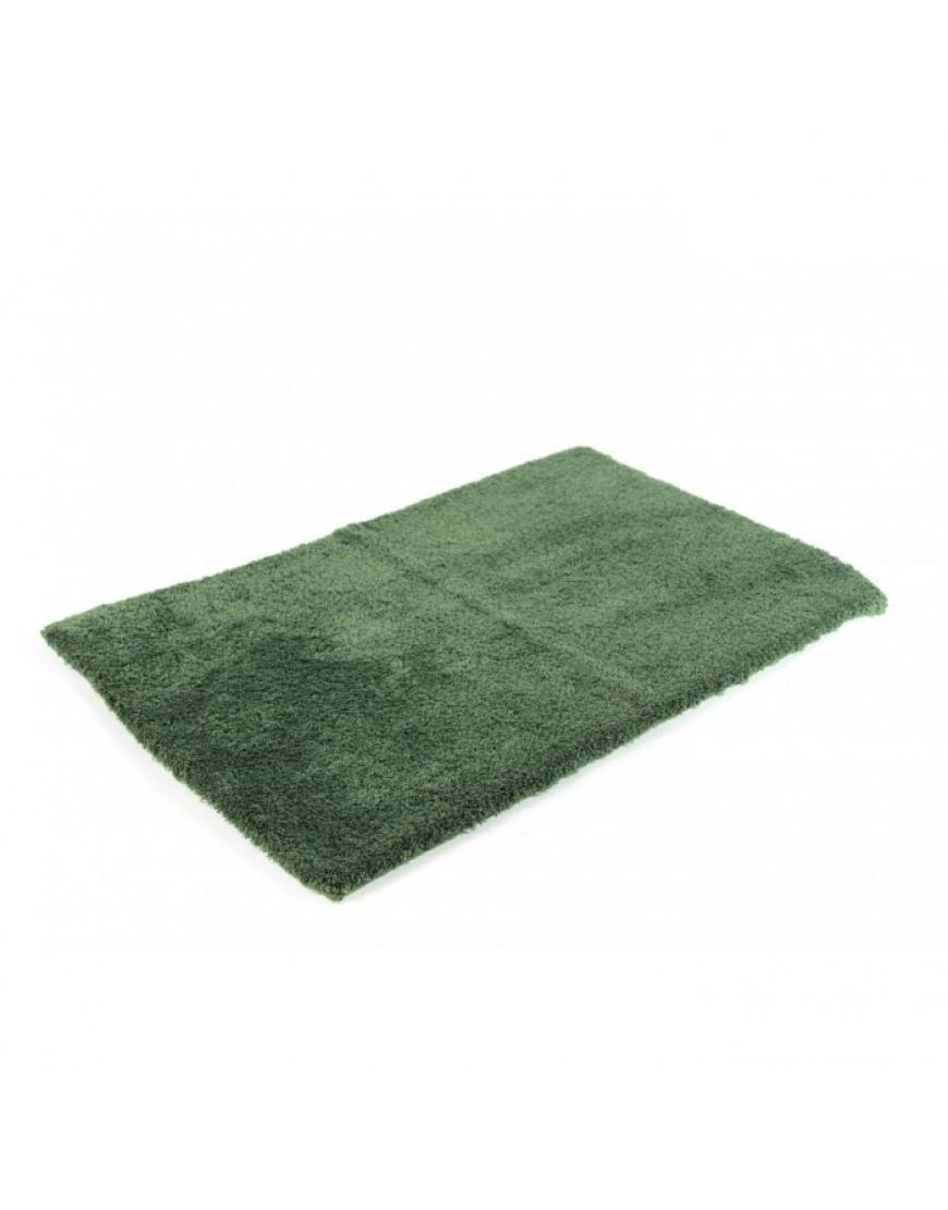 دعاسة أرضية فرو أخضر 53×86 سم