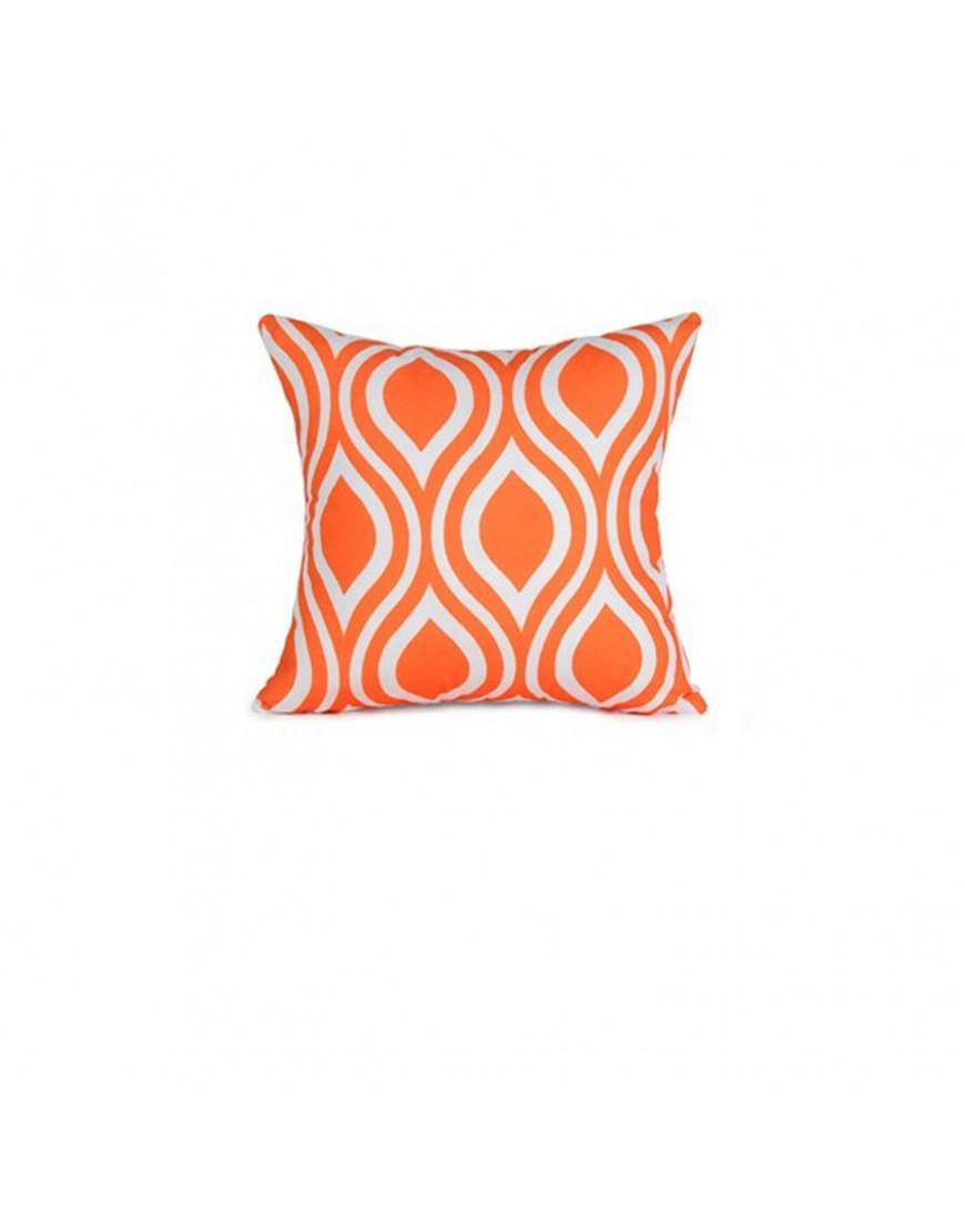 غطاء خدادية برتقالي و أبيض