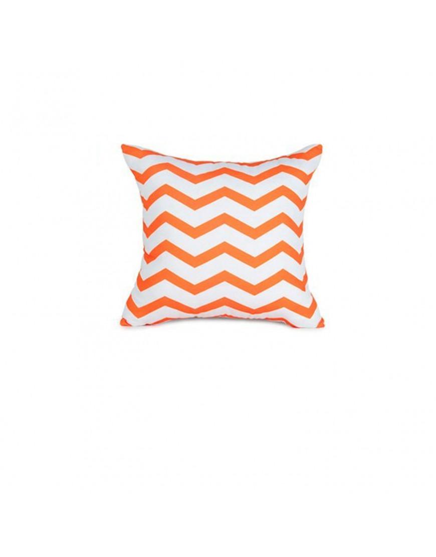 غطاء خدادية أبيض و برتقالي