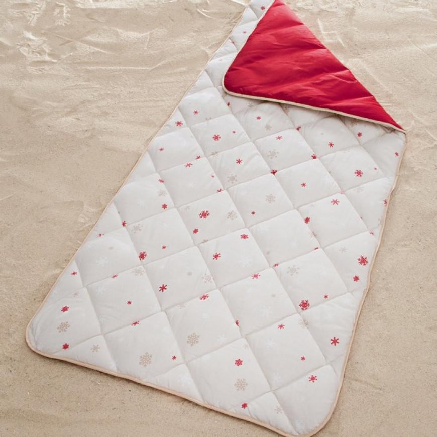 Lightweight Camping Sleeping Bag Zipper-less Red 100x220