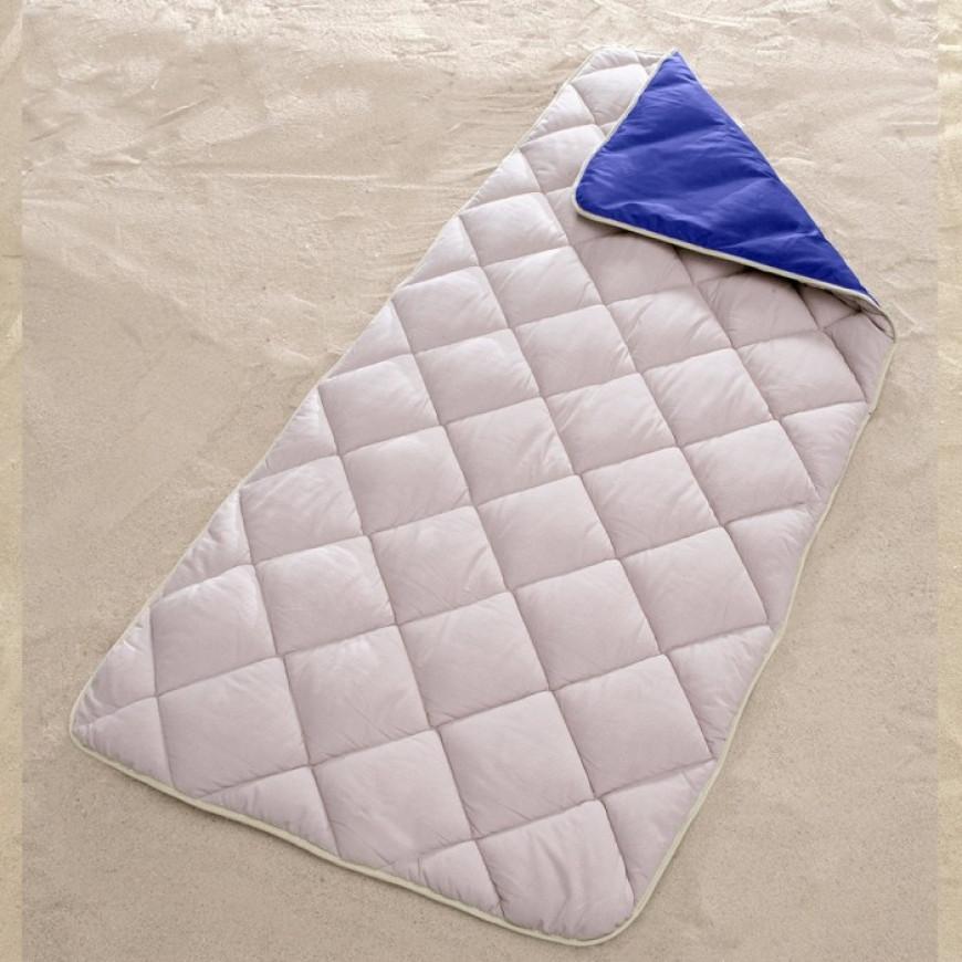 Lightweight Camping Sleeping Bag Zipper-less Blue 100x220