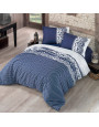 Canzone Blue Duvet Cover Double 6-Piese Set