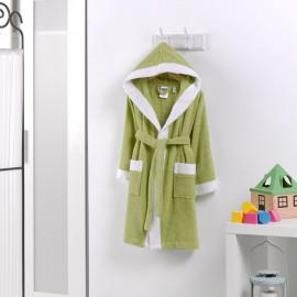 روب استحمام أطفال باللون الأخضر