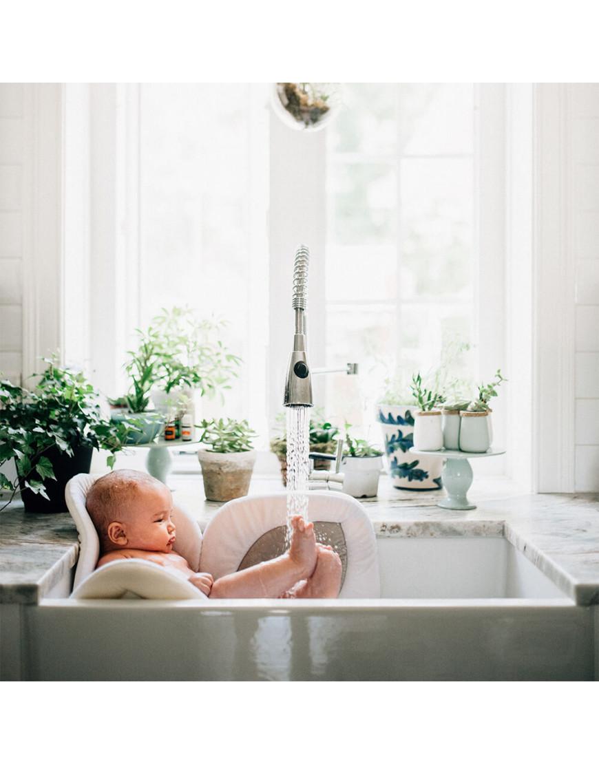 وسادة استحمام للاطفال blooming bath لون رصاصي