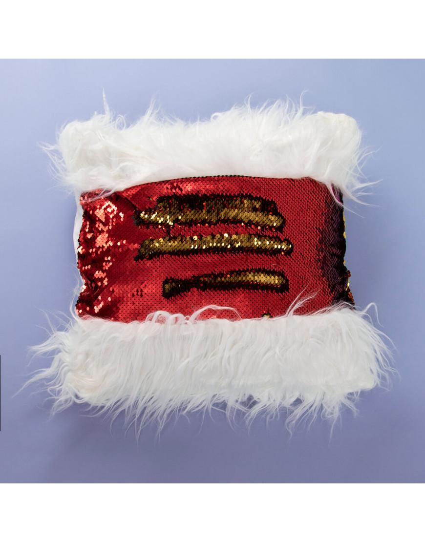غطاء خدادية ترترية أحمر و أبيض