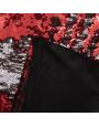 غطاء خدادية ترترية أحمر