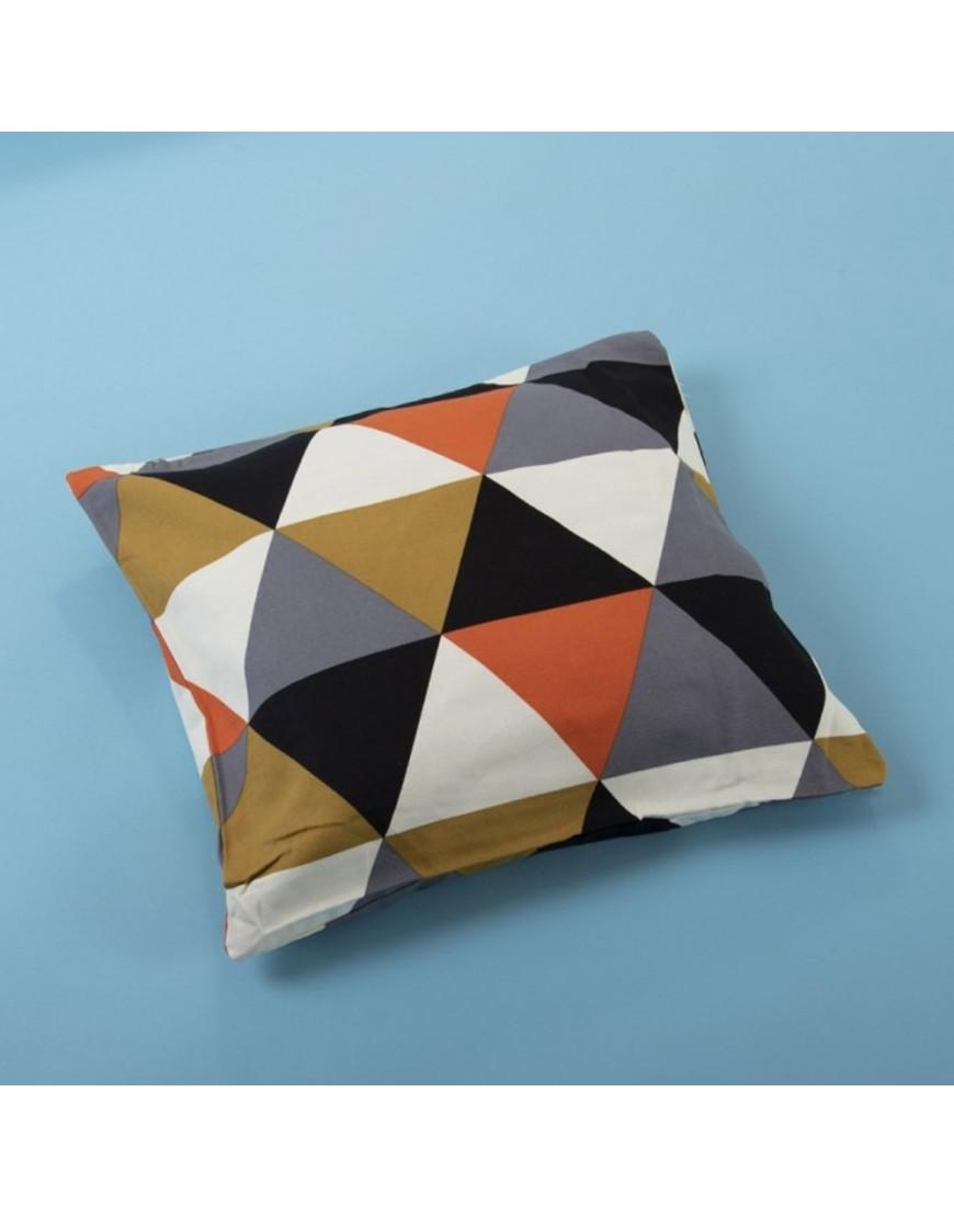 غطاء خدادية مثلثات متعددة الألوان