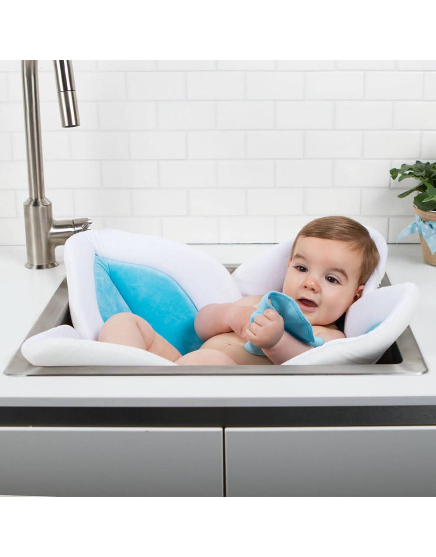 وسادة استحمام للأطفال blooming bath لون تركواز